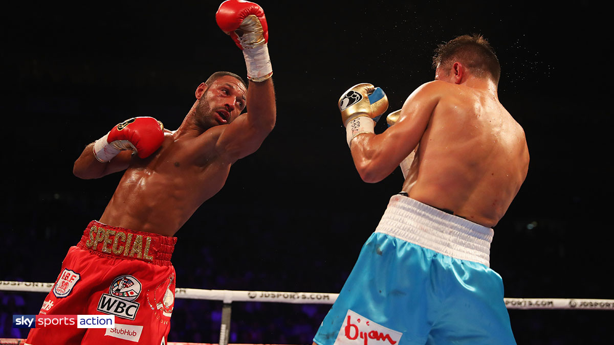 Kell Brook in action