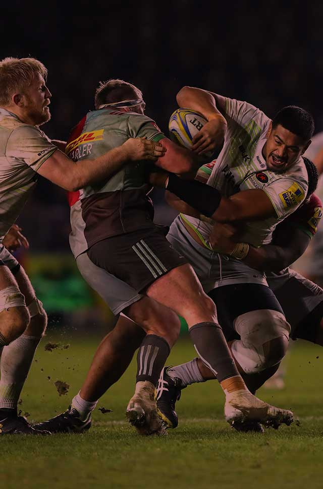 Aviva Premiership action on BT Sport