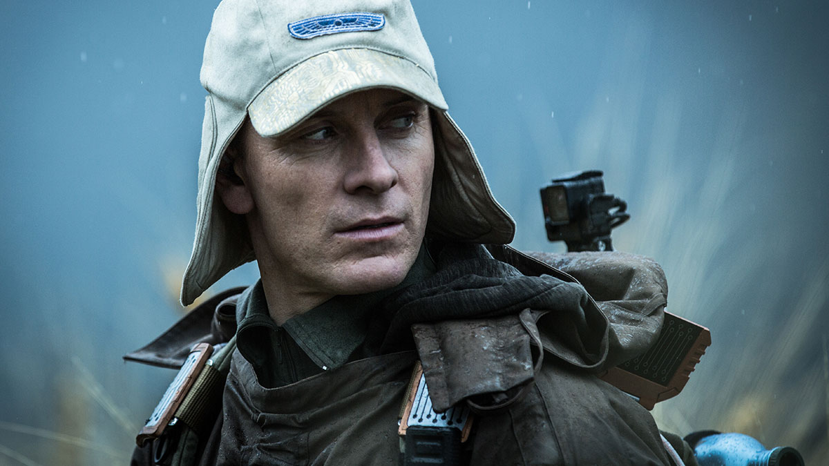 Michael Fassbender in Alien Covenant