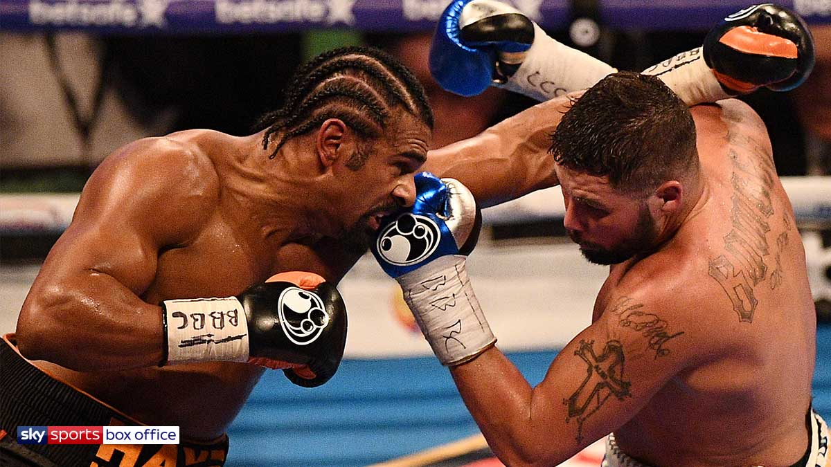 David Haye fighting Tony Bellew