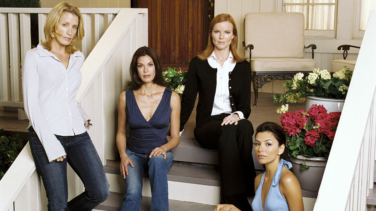 Felicity Huffman, Teri Hatcher, Marcia Cross and Eva Longoria in Desperate Housewives