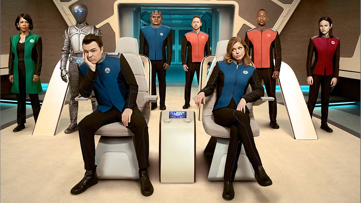 Seth McFarlane in The Orville