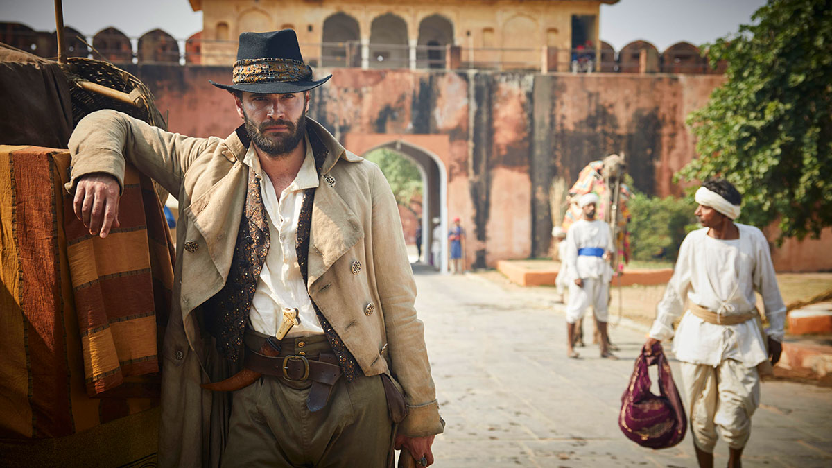 John Beecham (Tom Bateman) in Beecham House