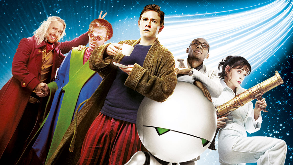 Cast of The Hitchhiker's Guide To The Galaxy