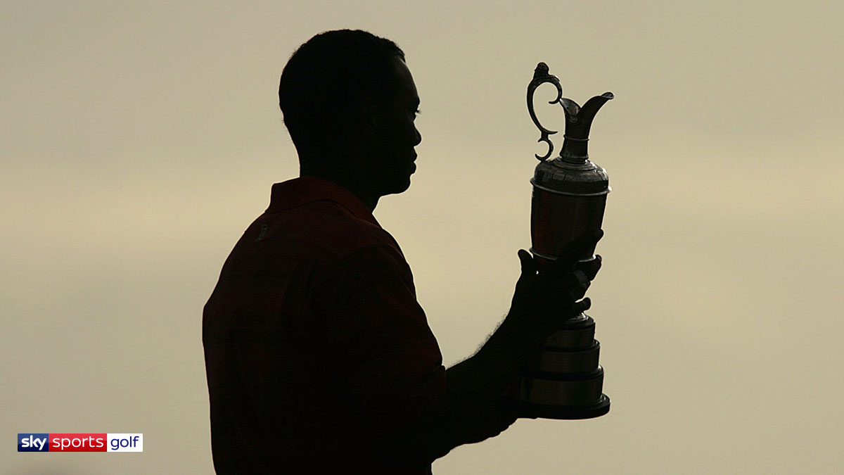 Tiger Woods winning the 2006 Open Championship