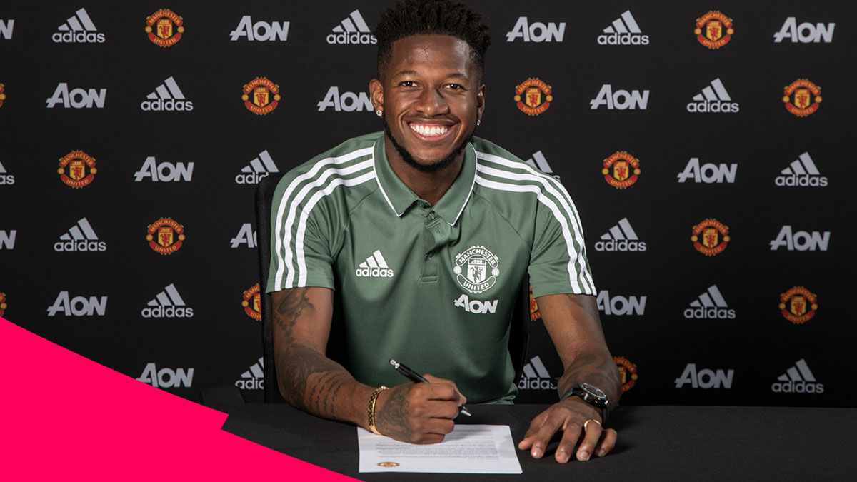 Fred signing for Manchester United