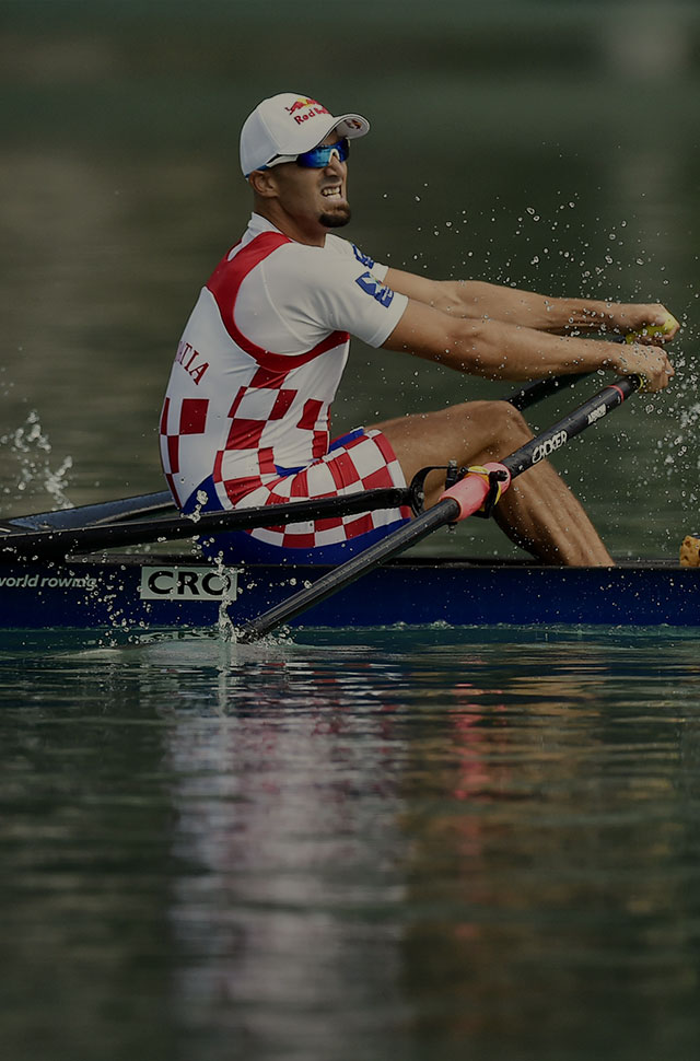 Action from the Rowing World Championships