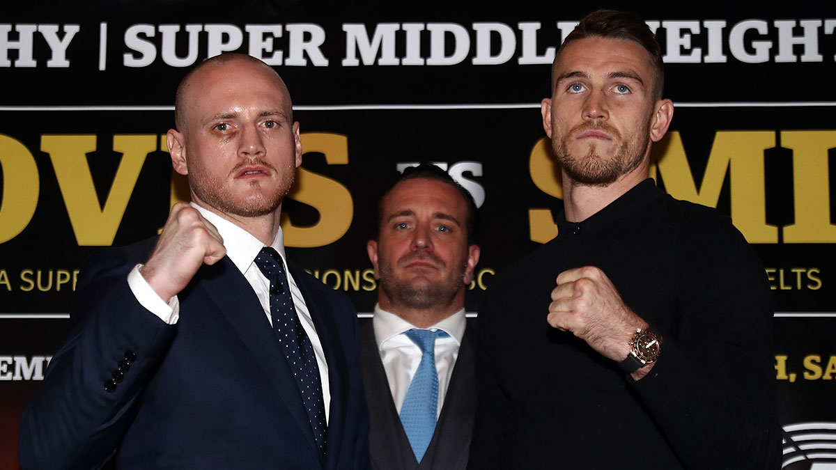 George Groves v Callum Smith