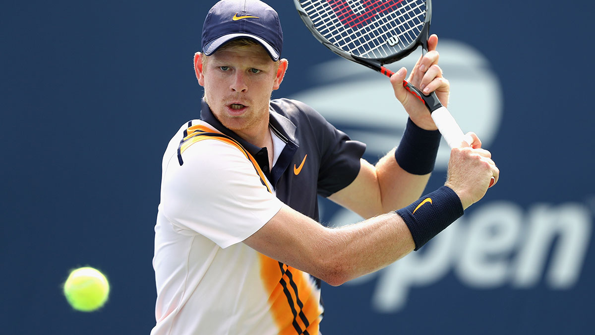 British number one Kyle Edmund