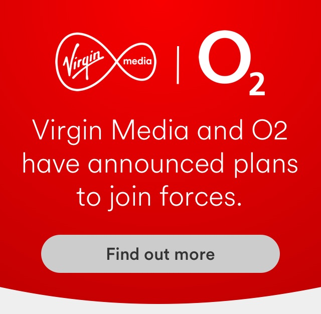 Virgin Media and O2 have announced plans to join forces. Find out more.