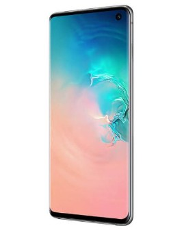 Samsung Galaxy S10 Prism White and 10 inch tablet