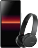 Sony Xperia L4 Liquid Black with Sony WH-CH510 headphones