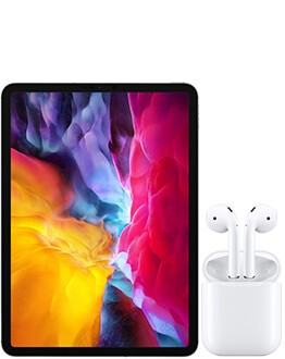 Apple iPad Pro 11 LTE with AirPods